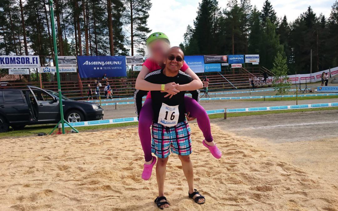 The Wife Carrying World Championship 2016