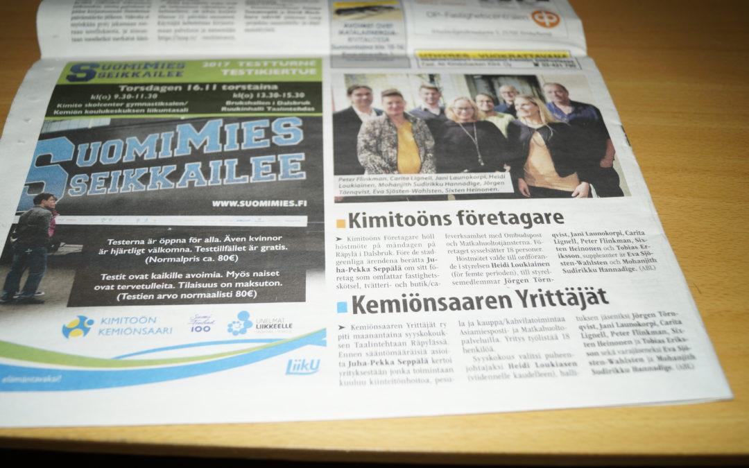 Kimitoöns företagare – Annonsbladet – Finland