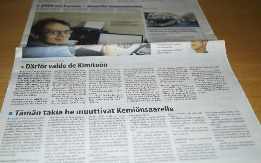Därför valde de Kimitoön – Annonsbladet – Finland